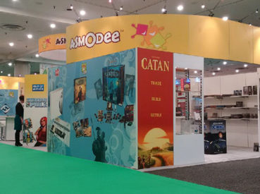 Hunter Exposition - Asmodee Booths