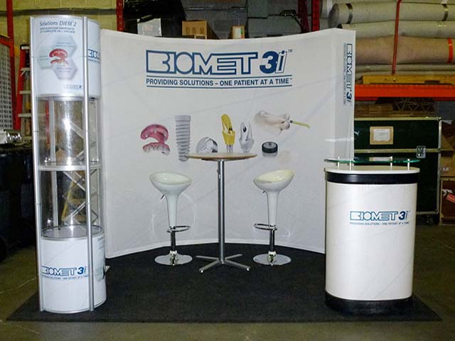 Biomet Portables booths