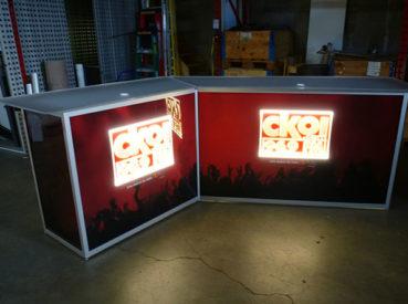 Hunter Exposition - Light Sign Counter