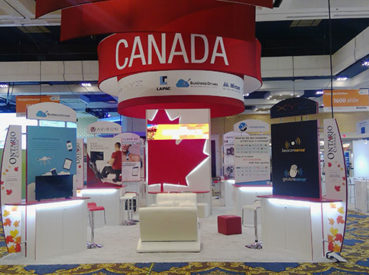 Hunter Exposition - Ontario Pavillion Modular Booth