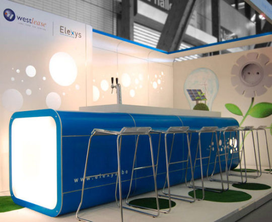 Hunter Exposition - Westlease Modular Booth