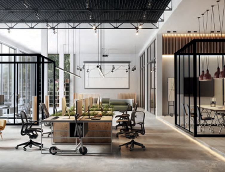 Meeting rooms divider