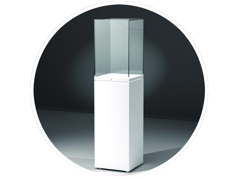 Column Display Cases