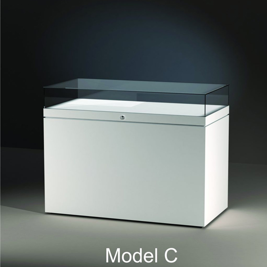 Table Display Cases - model C