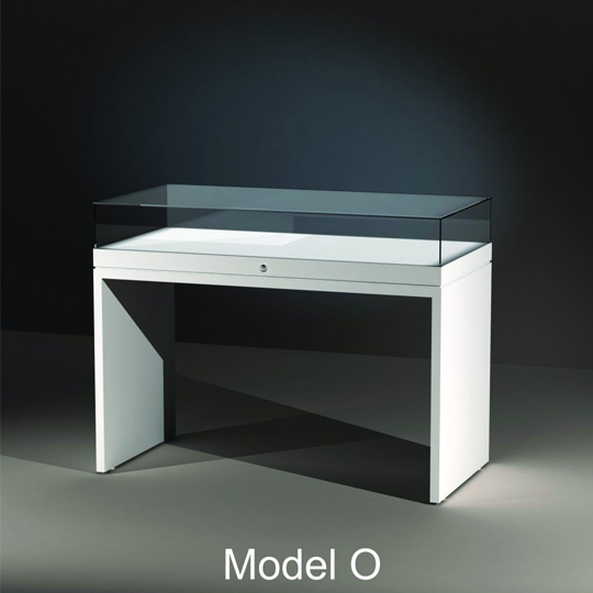 Table Display Cases - model O