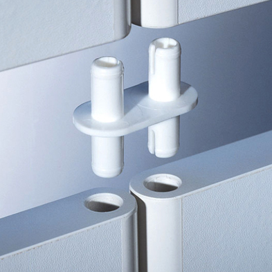 Modular Wall System - Peg connectors